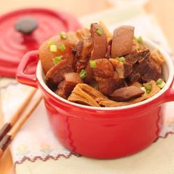 蘿卜腐竹辣燜羊排的做法[圖]