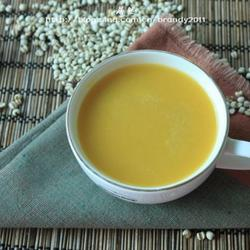 南瓜薏米羹的做法[图]