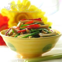 韭菜炒卤藕的做法[图]