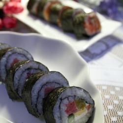 沙拉酱寿司和鱼子酱寿司的做法[图]