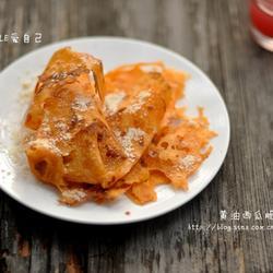 西瓜味黄油脆薄饼的做法[图]