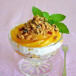 桃子曲奇甜品的做法[图]