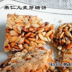 果仁麦芽糖饼的做法[图]