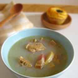 河蚌咸肉竹笋汤的做法[图]