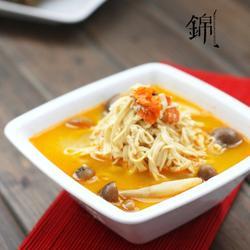 蟹黄豆腐丝的做法[图]