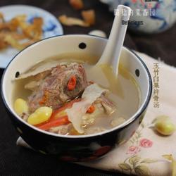 玉竹白果排骨汤的做法[图]