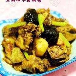 黑胡椒冬菇焖鸡的做法[图]
