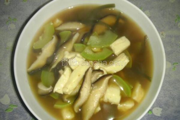 简单易做的大酱汤