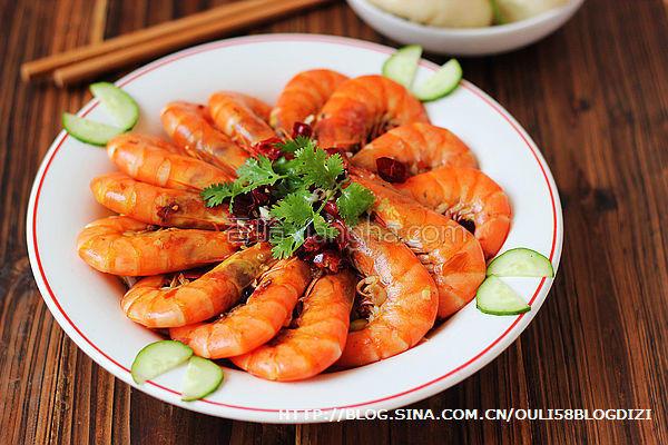 水煮香辣虾的做法