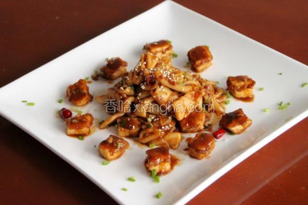 酱鱿鱼烩豆腐