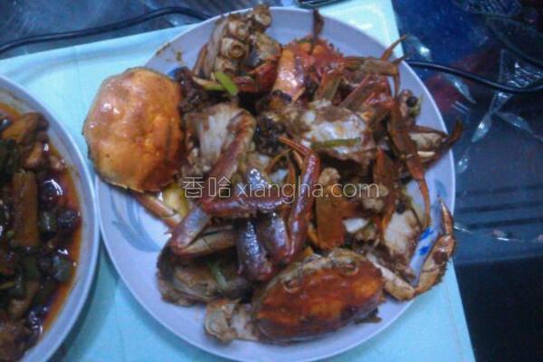 椒盐螃蟹的做法