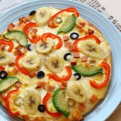 牛油果香蕉披萨的做法[图]