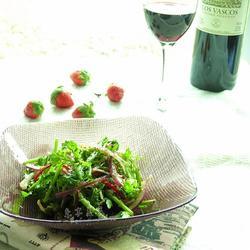 葡萄醋茼蒿沙拉的做法[图]