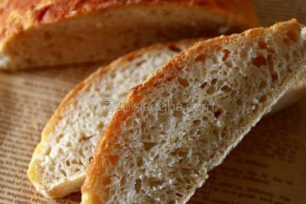 5分钟面包的做法