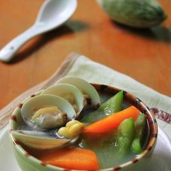 黄豆鼠瓜蛤蜊汤的做法[图]