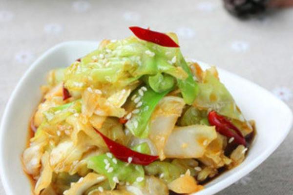 珍选捞汁卷心菜