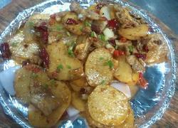 铁板孜然土豆