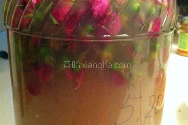 喝减肥茶_玫瑰酵素的做法_菜谱_香哈网