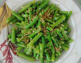 花椒油凉拌豇豆