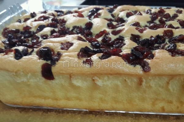 蔓越莓蛋糕