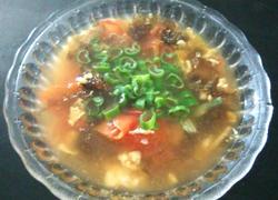 番茄鸡蛋紫菜汤