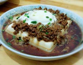 肉末蒸豆腐[图]