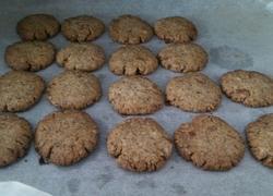 红糖芝麻椰蓉饼干