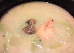 文蛤大虾冬瓜汤