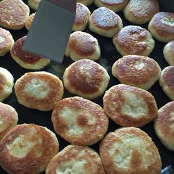 奶香豆渣饼
