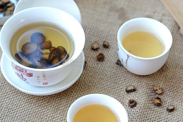 自制牛蒡茶的做法