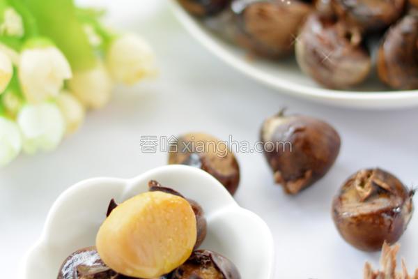 蜂蜜烤板栗的做法