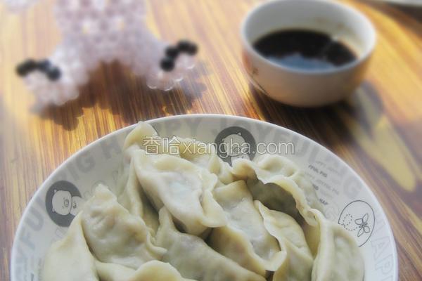 牛肉芹菜水饺