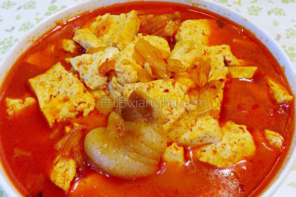 韩式豆腐汤的做法