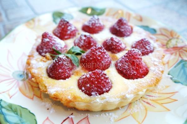 草莓奶酪派的做法
