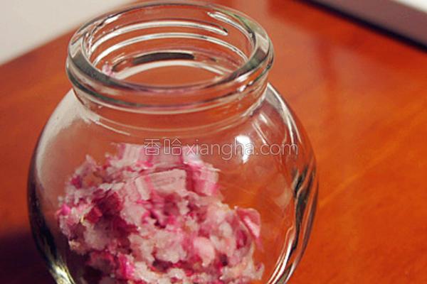 浓情玫瑰糖的做法