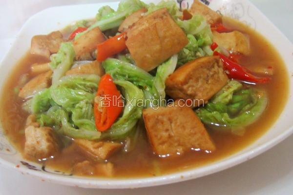 白菜煮豆腐
