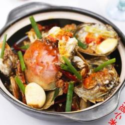 麻辣砂锅螃蟹的做法[图]