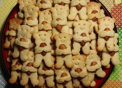 小熊杏仁餅