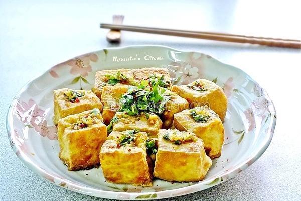 酥炸豆腐的做法