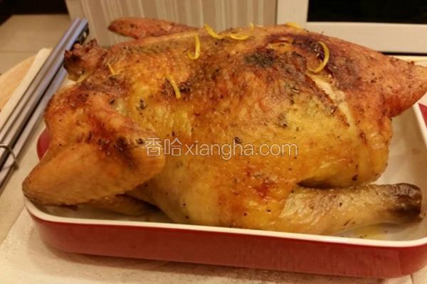 意大利香料烤鸡
