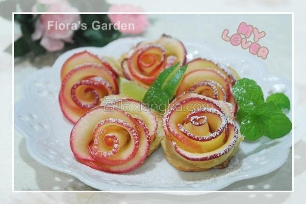 苹果玫瑰花卷的做法