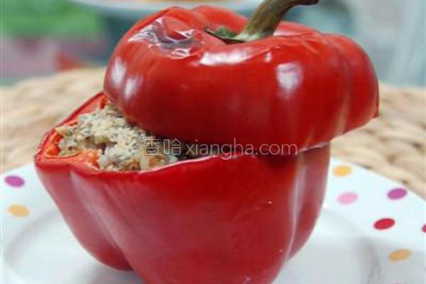 意式香料烤甜椒的做法