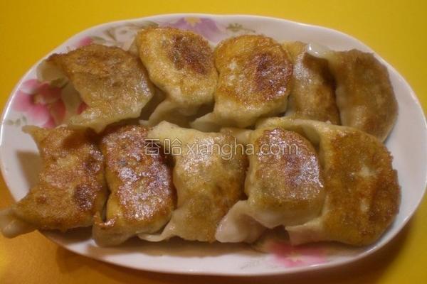 韭菜高丽菜水饺的做法
