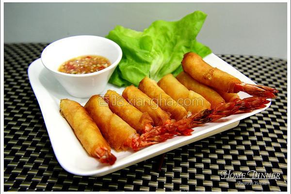 泰式炸虾春卷的做法