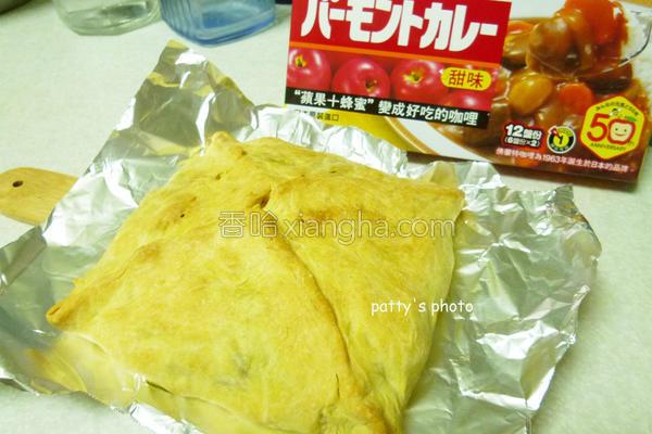 料理绝配咖哩饭包的做法