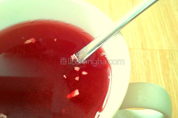 黑糖蔓越莓姜茶的做法