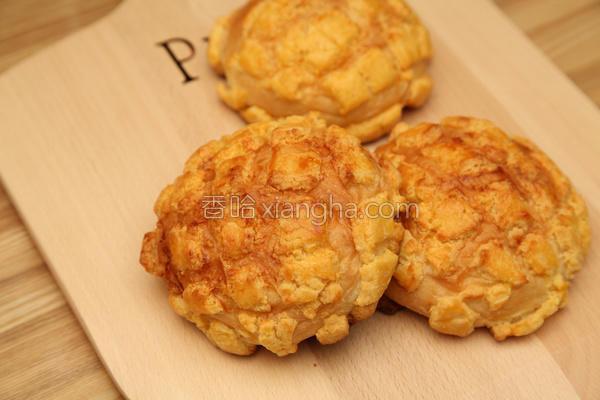 脆皮菠萝面包的做法