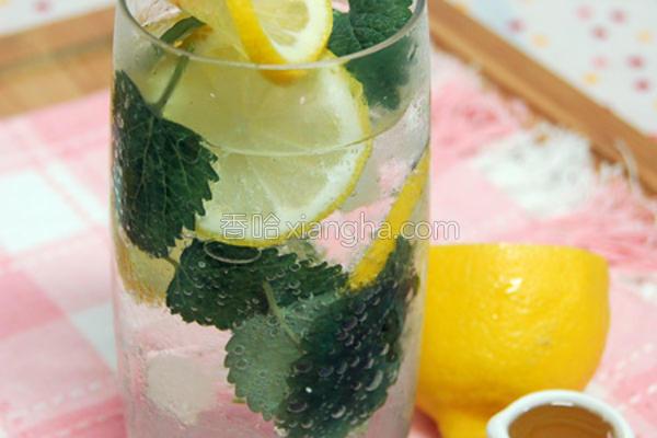 黄柠檬苏打的做法