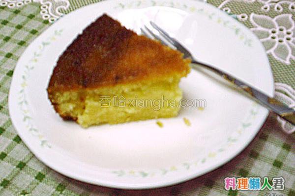 原味磅蛋糕的做法