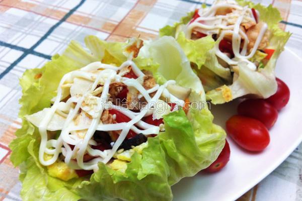 蔬菜洋芋虾松的做法